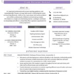 74 Awesome Teacher Resume Template by Images