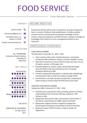 74 Excellent Good Resume Examples with Ideas