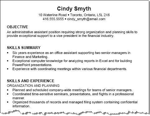 74 Lovely Resume Format Examples by Ideas