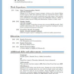 74 Lovely Updated Resume Format with Ideas