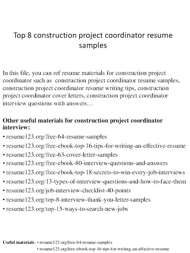 74 Stunning Construction Superintendent Resume Cover Letter Examples by Graphics