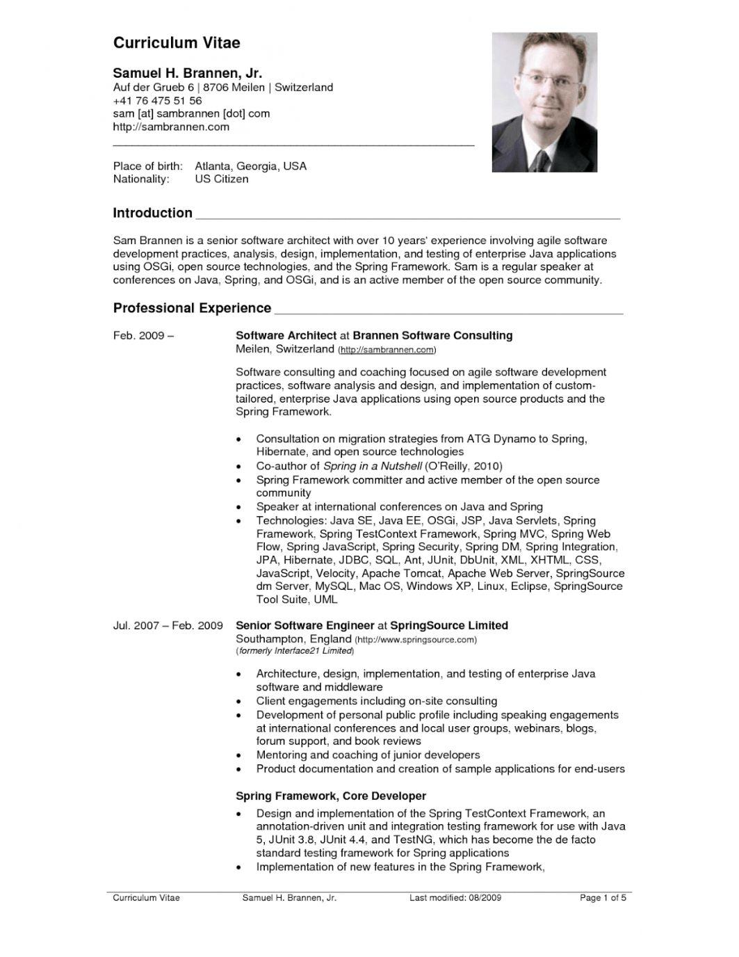 74 Stunning Us Resume Format by Pictures