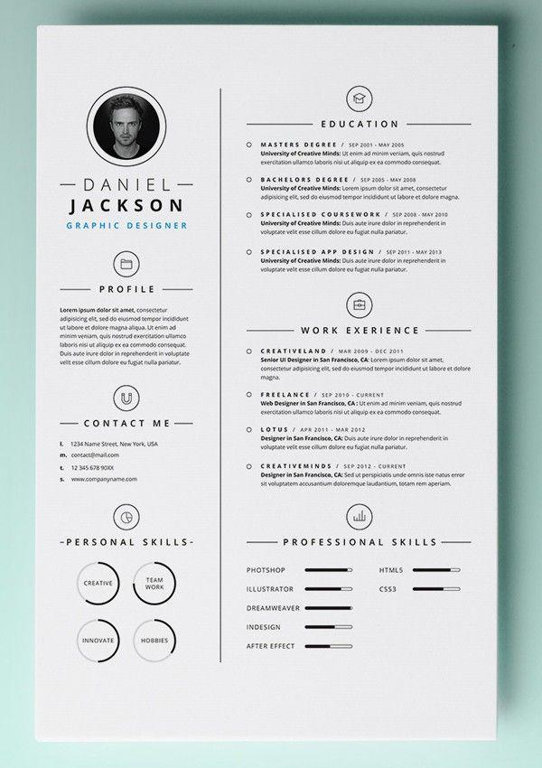 75 Awesome Free Resume Templates For Mac by Images