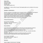 75 Awesome Sonographer Resume by Gallery
