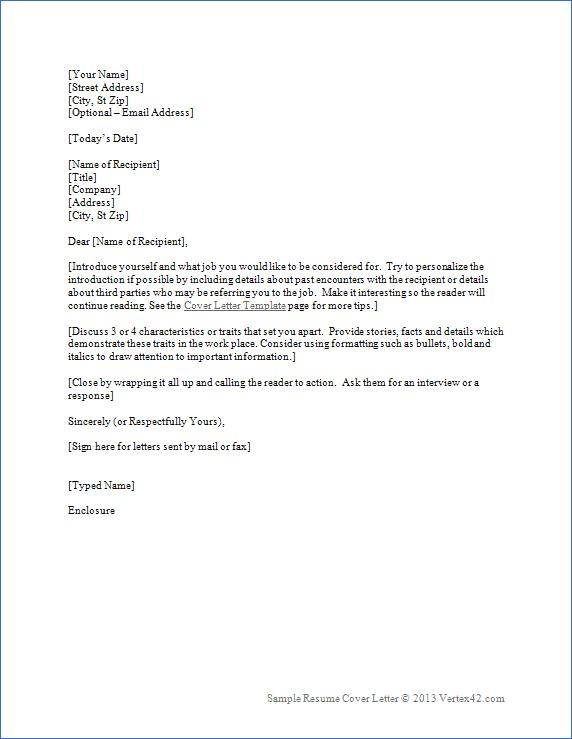 75 Best Free Cover Letter Examples with Design