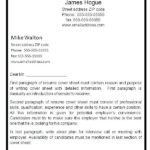 75 Best Resume First Page for Images
