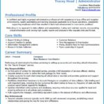 75 Excellent Cv Sample Word by Images