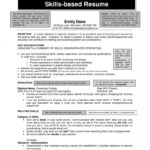 75 Excellent Examples Of Skills Based Resume by Images
