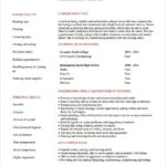 75 Nice Barber Resume Sample Objectives for Ideas
