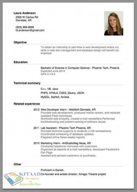 75 Stunning How To Make A Great Resume with Pics
