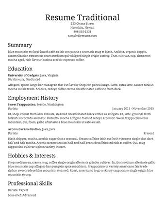 76 Awesome Free Resume Maker And Print for Gallery