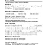 76 Cool Resume Template Pdf for Design