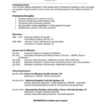 77 Inspirational Sonographer Resume for Gallery