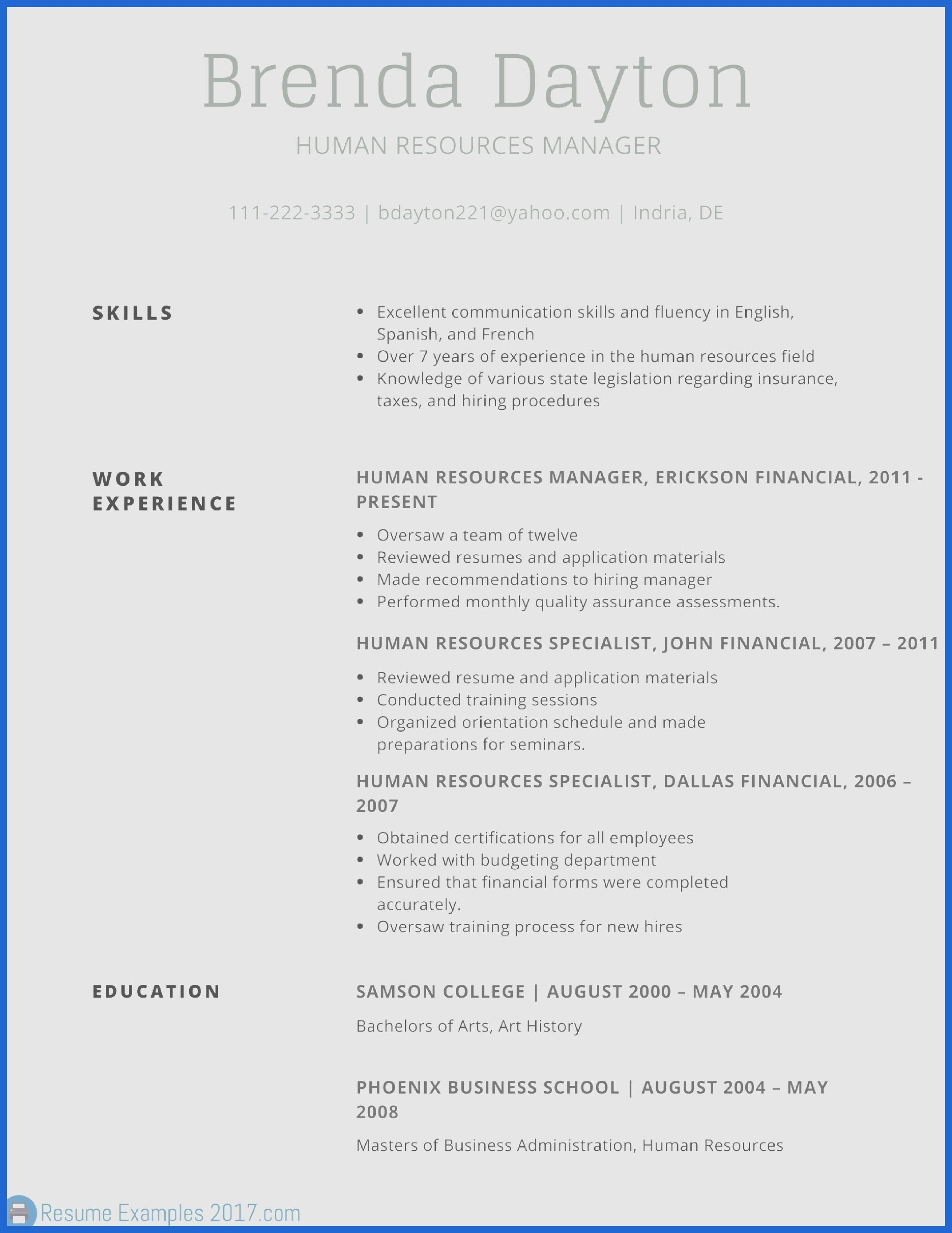 77 New Good Resume Layout with Graphics
