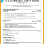 77 Stunning Civil Engineer Resume by Ideas