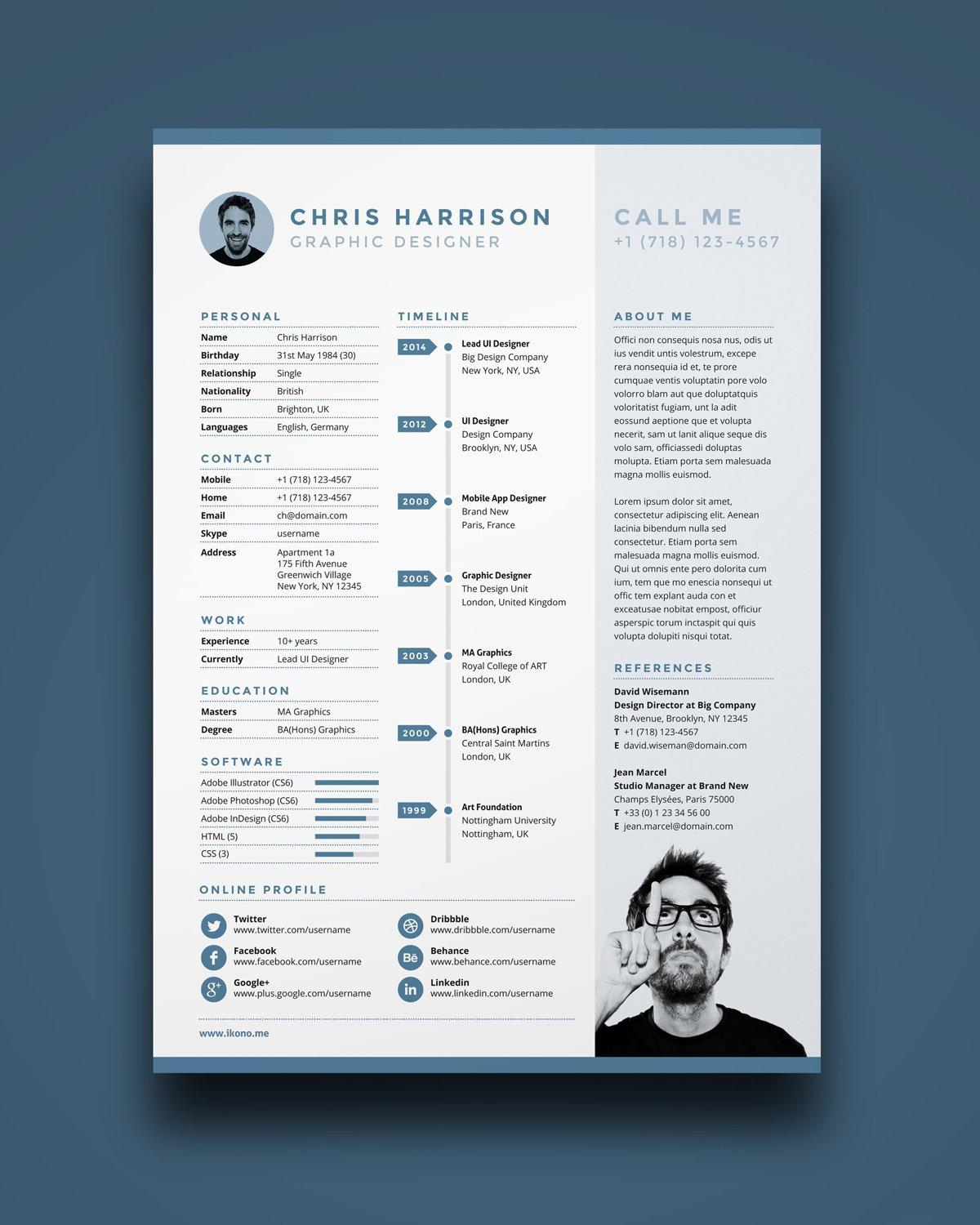 77 Top Where Can I Get Free Resume Templates with Gallery