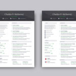 78 Excellent One Page Cv Template by Pictures
