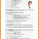 78 Stunning Updated Resume Format by Pics