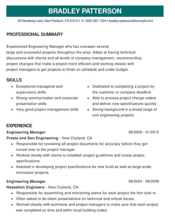 79 Cool Perfect Cv Format with Pics