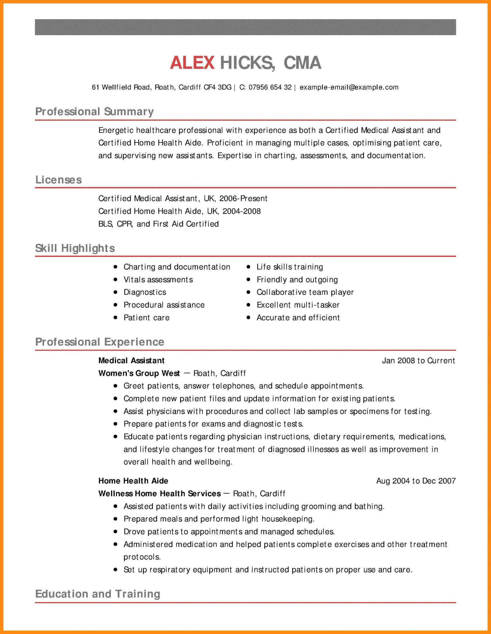 79 Great Hha Resume with Graphics