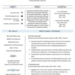 79 Inspirational Experienced Teacher Resume Examples with Gallery