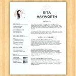 79 Stunning Eye Catching Resume Templates Free Download by Pics