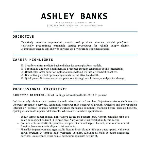 79 Top Free Professional Resume Templates Word for Design