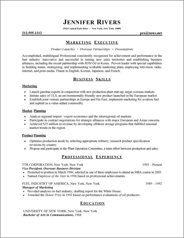 80 Great Basic Resume Format For Job with Gallery