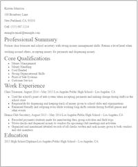 81 Beautiful Entry Level Resume No Experience with Ideas