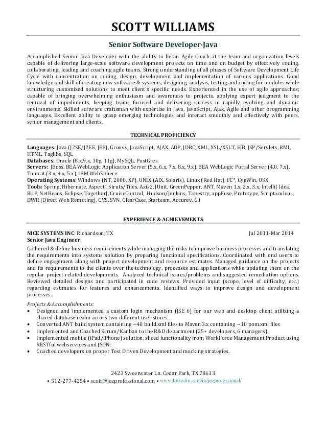81 New Entry Level Software Engineer Resume by Gallery