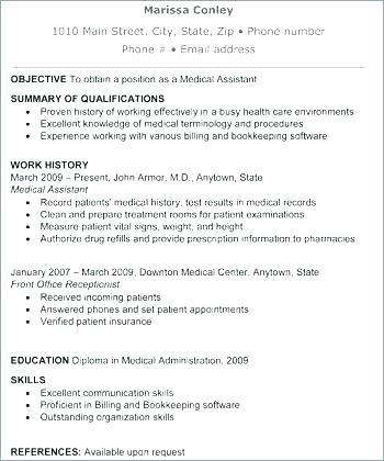82 Cool Medical Front Desk Resume with Images