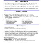 82 Excellent Civil Engineer Resume with Pictures