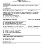 82 Great Job Resume Template by Pics