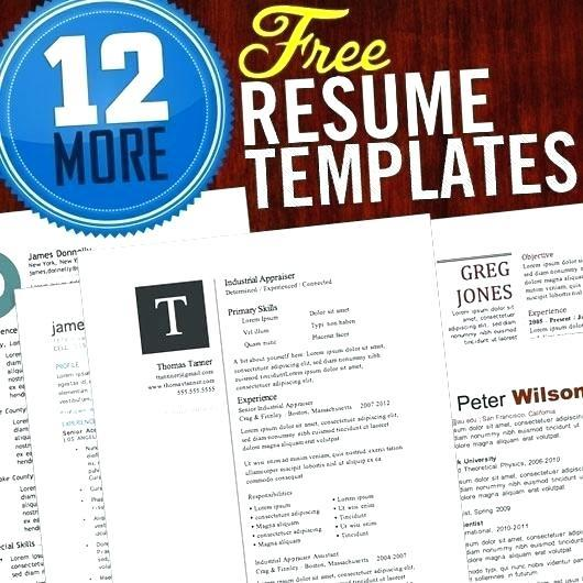 82 New Free Creative Resume Templates Microsoft Word with Pics