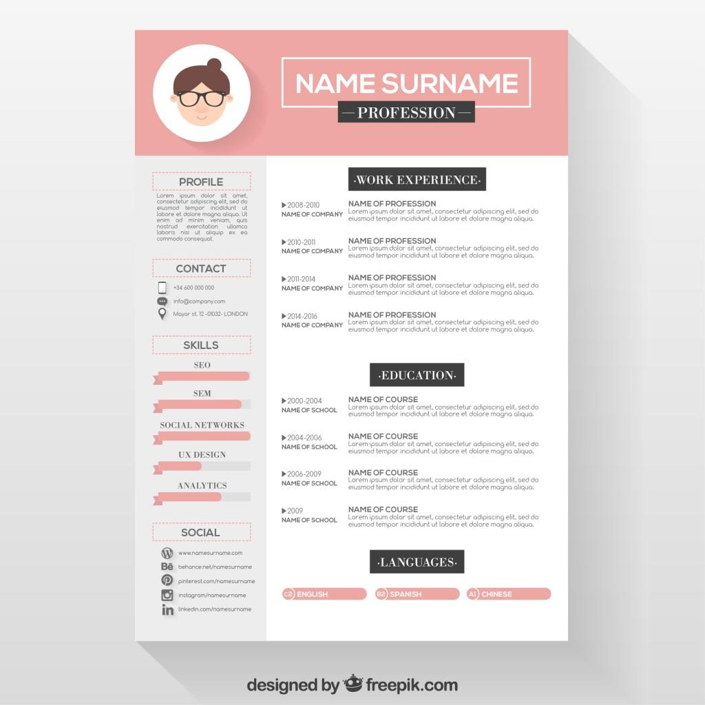 82 New Free Cv Template Download with Design