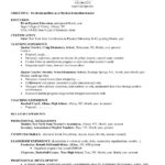 82 Nice Early Childhood Education Resume Examples with Ideas