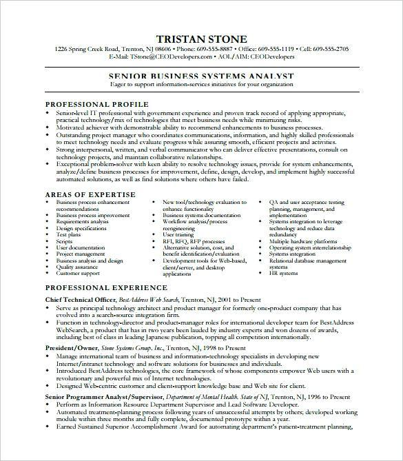 82 Top Business Analyst Resume Examples 2018 with Gallery