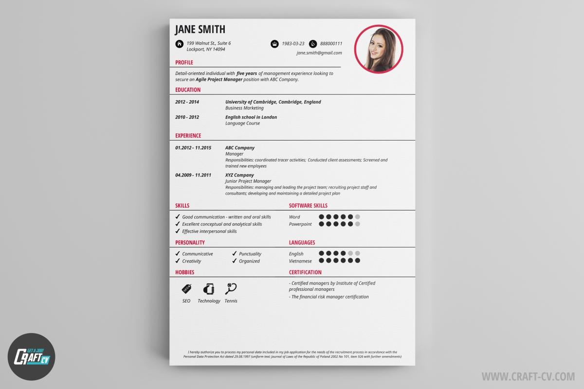 83 Great Cv Template Gratis with Ideas