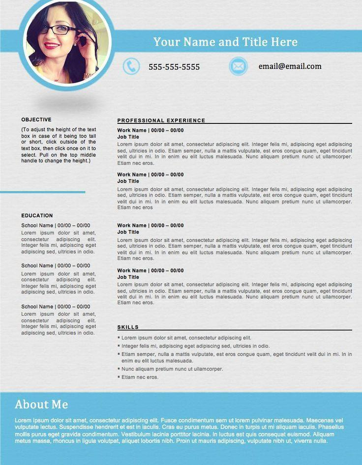 83 Inspirational Great Resume Formats for Graphics
