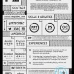 83 Lovely Best Looking Resume Templates with Graphics