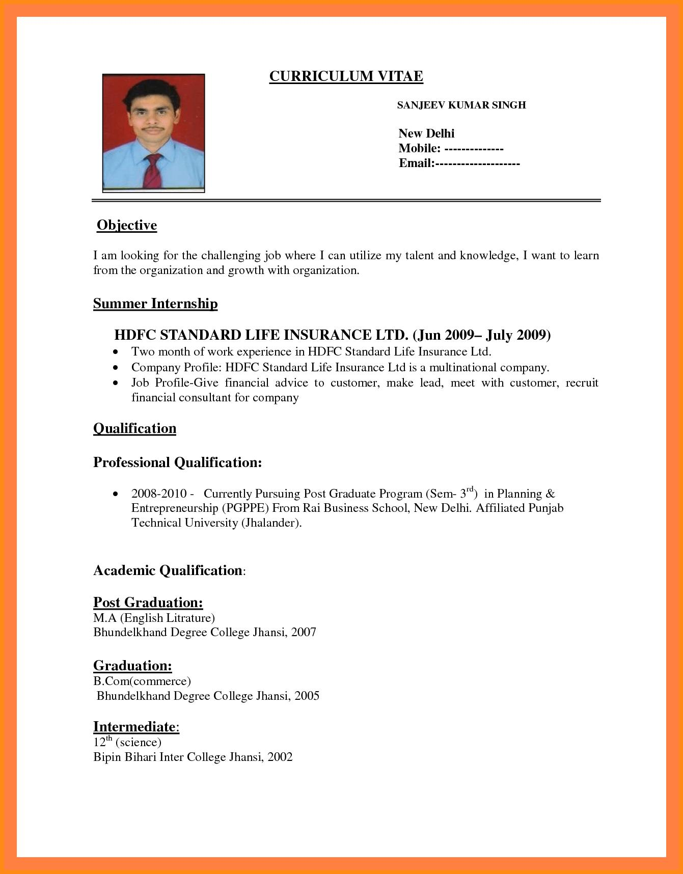 83 New How Can I Make A Resume with Design