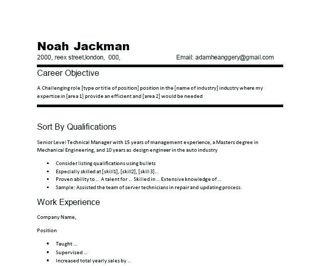 83 Stunning Auto Mechanic Resume Objective Examples for Pictures