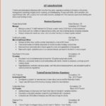 84 Beautiful Experienced Teacher Resume Examples for Pictures