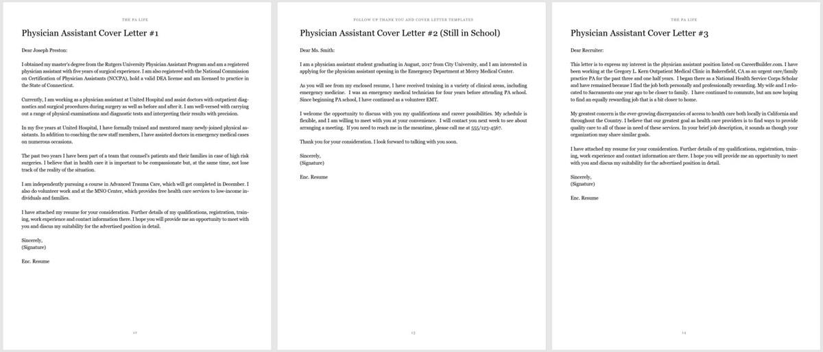 84 Cool Physician Cover Letter by Gallery