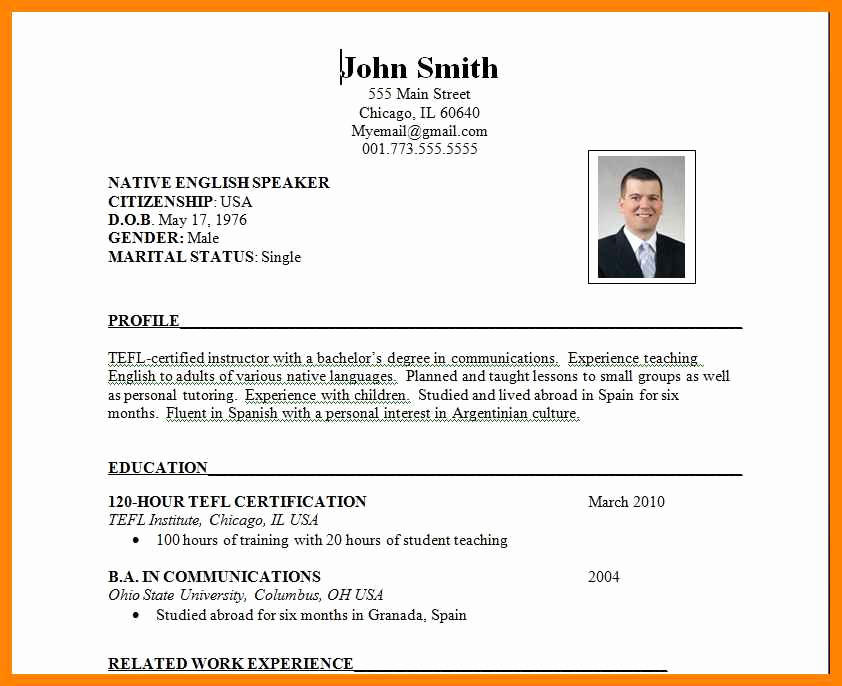 84 Excellent Example Of Resume For Job Application Pdf by Ideas
