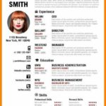 84 Great English Cv Template with Design