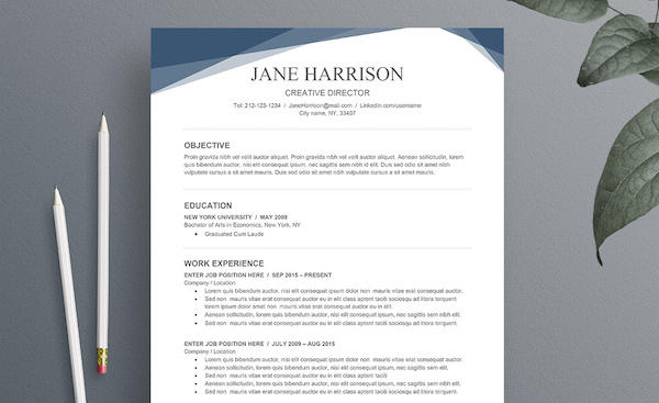 84 New Free Creative Resume Templates Microsoft Word for Pictures