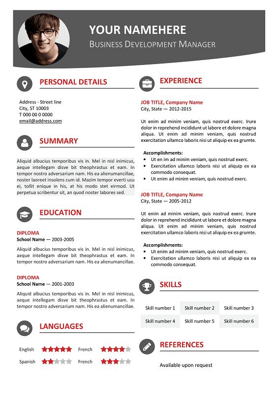 84 New Modern Day Resume for Graphics