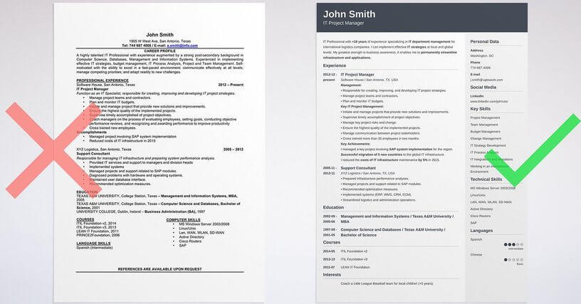 84 Stunning Free Cv Resume Builder for Pics