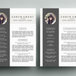 85 Awesome Best Looking Resume Templates for Images